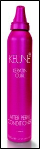 Keune Keratin Curl Leave In Conditioner Schaum